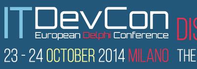 Conférence ITDevCon (Milan, Italie)